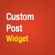 Custom Posts Widget - WordPress Premium Plugin - CodeCanyon Item for Sale