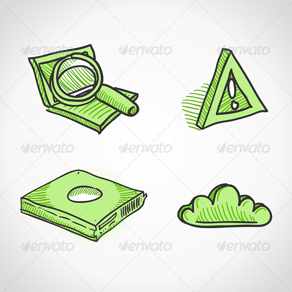 Technology Icons - Objects Vectors