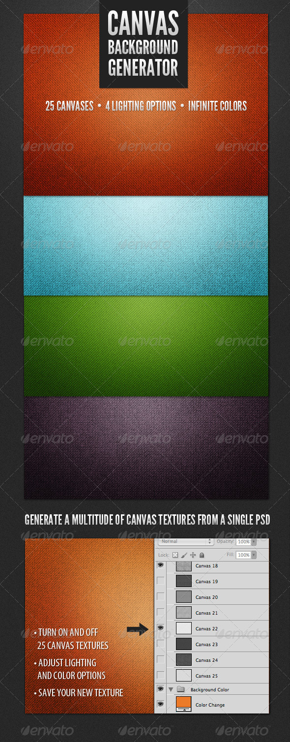 Modern Canvas Background Generator - Backgrounds Graphics