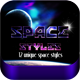 12 Space Styles - GraphicRiver Item for Sale
