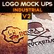 Industrial Photorealistic Logo Mock-Up V2 - GraphicRiver Item for Sale