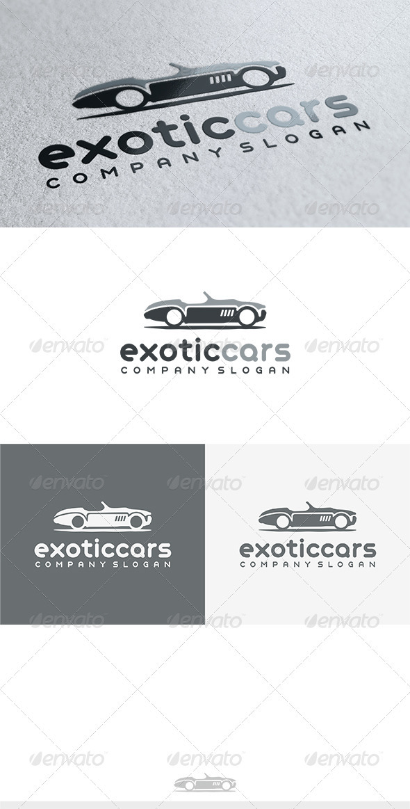 Exotic Cars Logo - Objects Logo Templates