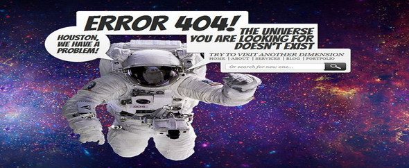 Lost in space error 404b
