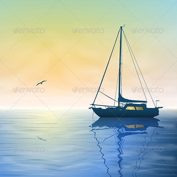 Sailing Boat - Miscellaneous Vectors