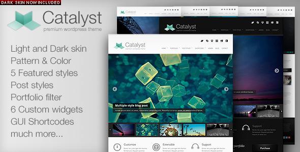 Free Download Catalyst Wordpress Portfolio Theme Nulled Latest Version