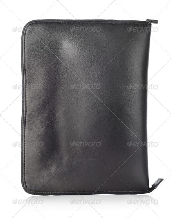 Black case for mobile phone - Stock Photo - Images