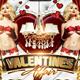Valentine's Affair Flyer Template - GraphicRiver Item for Sale