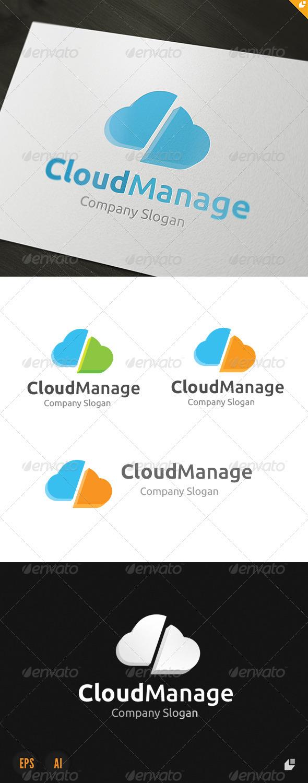 Cloud Manage Logo - Nature Logo Templates