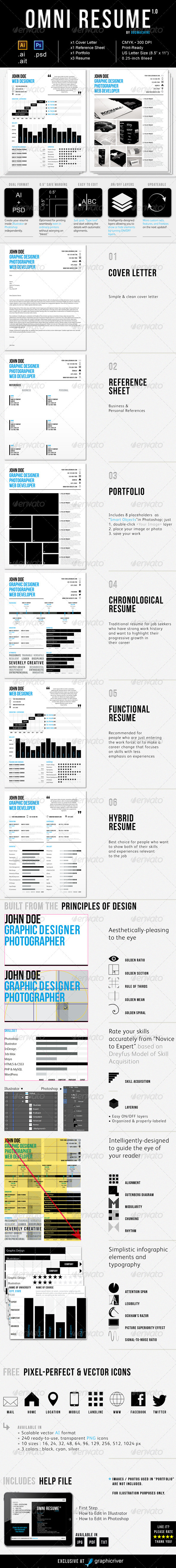 Omni Resume - Resumes Stationery