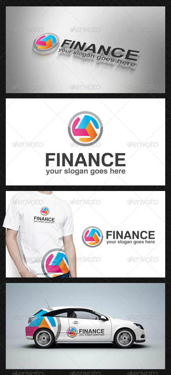 Finance Logo Template - Vector Abstract