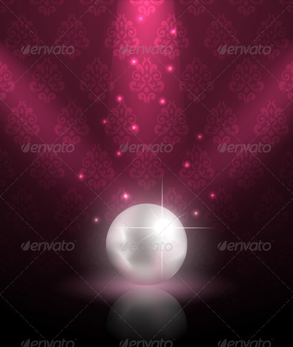 Pearl Background - Backgrounds Decorative