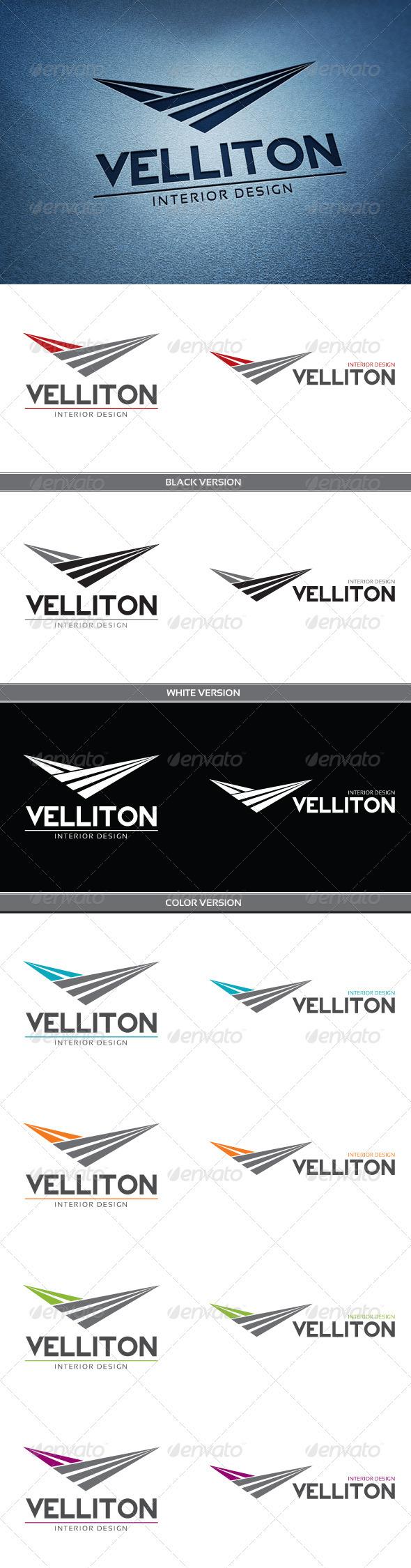 Velliton Logo - Letters Logo Templates