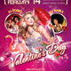 Valentine's Day Party Psd Flyer Template - GraphicRiver Item for Sale