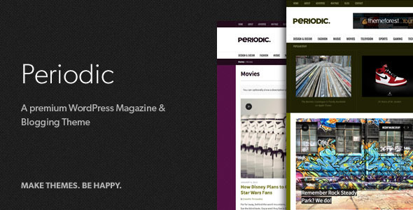 Periodic – A Premium WordPress Magazine Theme