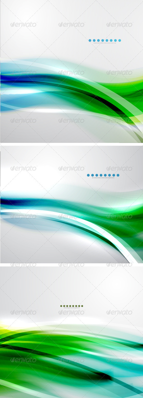Creative Smooth Wave Backgrounds - Backgrounds Decorative
