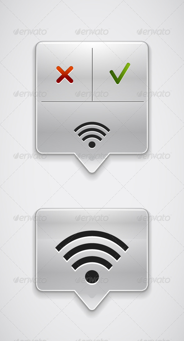 Vector Wi-Fi Pointers - Web Technology