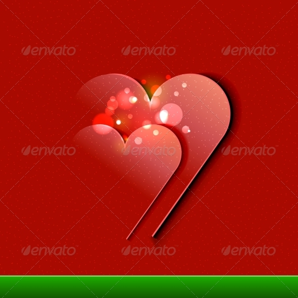 Vector Valentine's Day Card design | EPS10 illustr - Valentines Seasons/Holidays