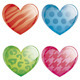 Set of Pattern Hearts - GraphicRiver Item for Sale