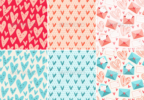 Valentine's Day Patterns - Patterns Decorative