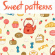 Sweets And Treats Patterns - GraphicRiver Item for Sale