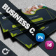 Green Life Business Card & Face-Timeline - GraphicRiver Item for Sale