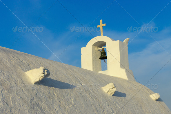 Roof of an orthodox church - Stock Photo - Images