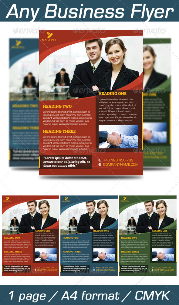 Any Business Flyer - Corporate Flyers