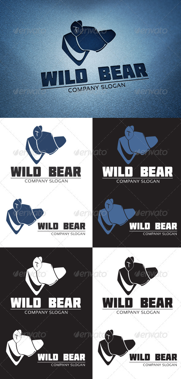 Grizzly Logo - Animals Logo Templates