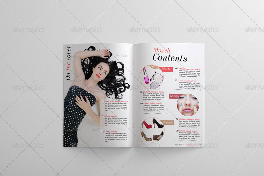24 Pages Fashion Magazine Template by BaGeRa | GraphicRiver