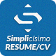 Simplicísimo - CV/Resume - GraphicRiver Item for Sale