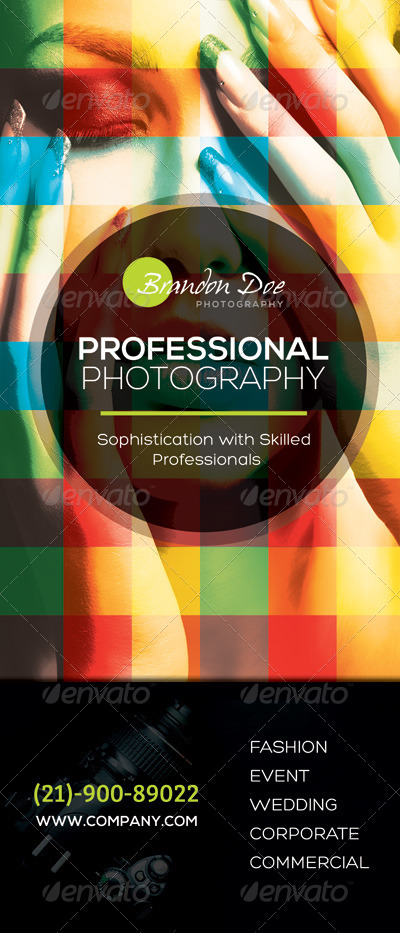 Photography Roll-up Banners by kinzi21   GraphicRiver