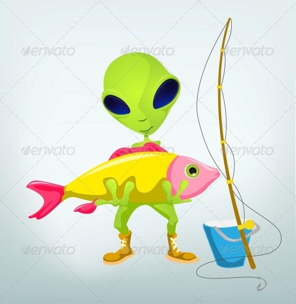 Funny Alien - Monsters Characters