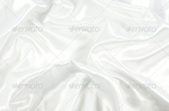 White Satin - Fabric Textures