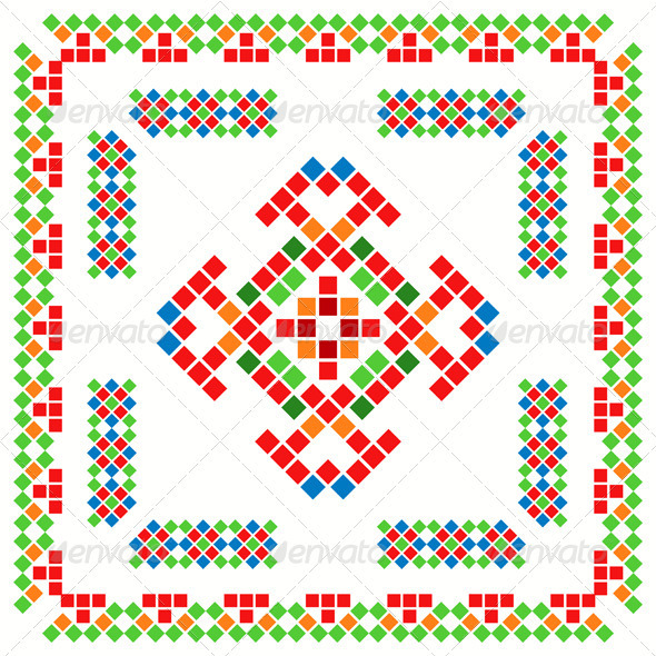 Ethnic Abstract Ornaments - Patterns Decorative