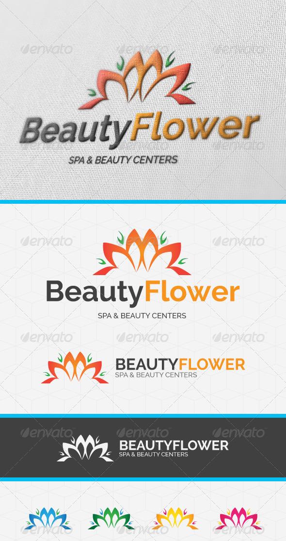 Beauty Flower Logo Template - Nature Logo Templates