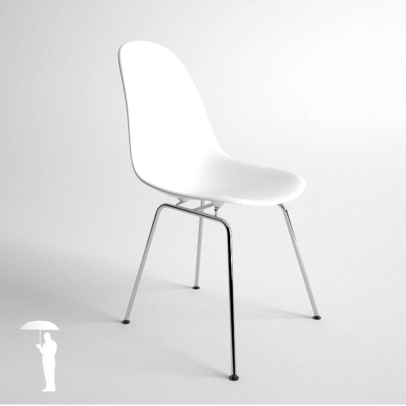 Eames Plastic Side Chair Dsr eames plastic side chair 4in1 dsw dsx dsr dss by konradrakowski