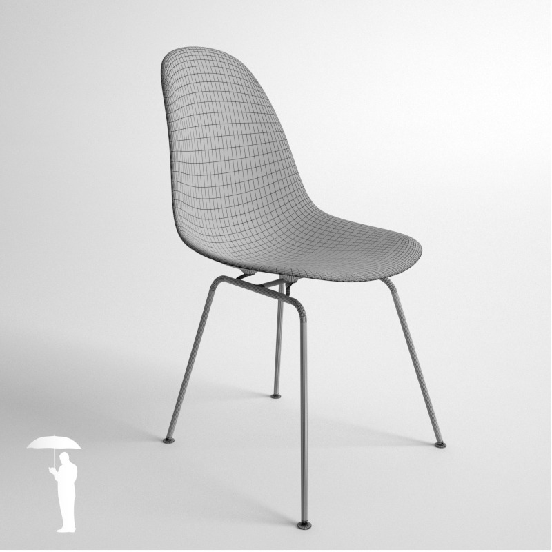 eames plastic side chair 4in1 dsw dsx dsr dss by. Black Bedroom Furniture Sets. Home Design Ideas