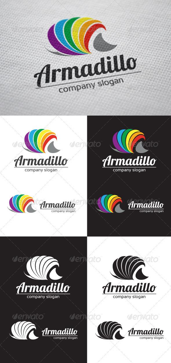 Armadillo Logo - Animals Logo Templates