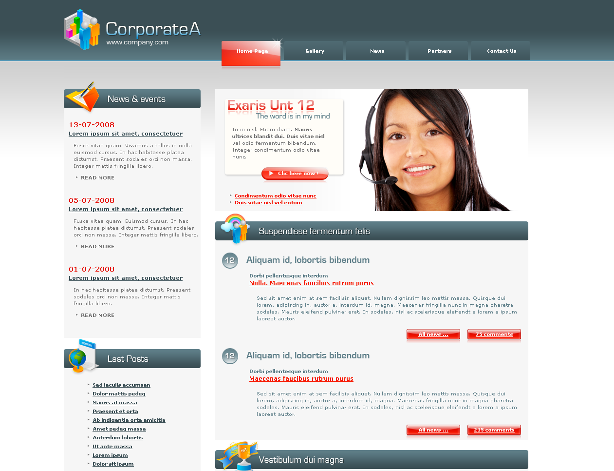 Free Download Corporate A Nulled Latest Version
