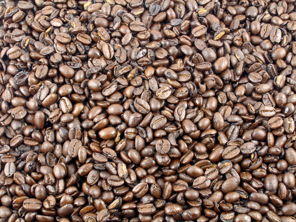 Coffee Beans - Miscellaneous Textures