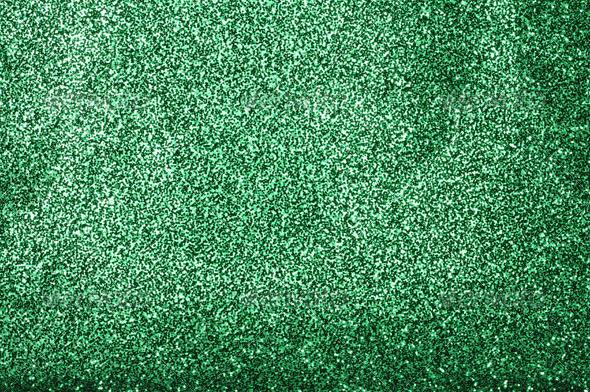 Green glitter - Fabric Textures