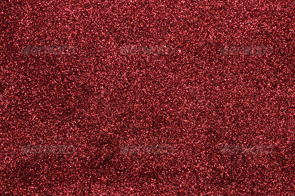 Red Glitter - Fabric Textures