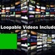 Monitors Room Package (5 Videos) - VideoHive Item for Sale
