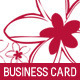 2 Fresh Beauty Business Card - GraphicRiver Item for Sale