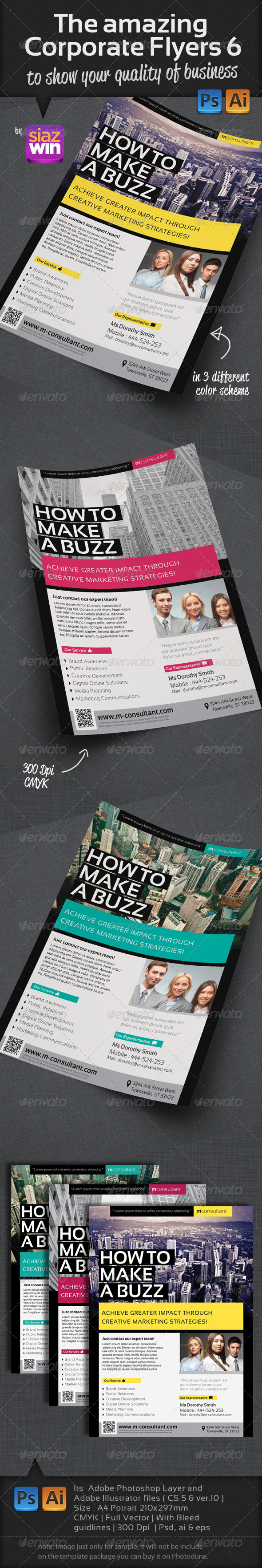 The Corporate Flyers 6 - Corporate Flyers