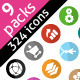 Development & Design Icons Pack - GraphicRiver Item for Sale