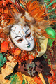 Traditional carnival mask and costume. Venice, Italy. - PhotoDune Item for Sale