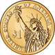 Vector American gold coin one dollar - GraphicRiver Item for Sale
