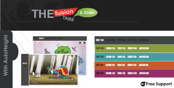 The Fusion of Tabs and Slider with jQuery - CodeCanyon Item for Sale