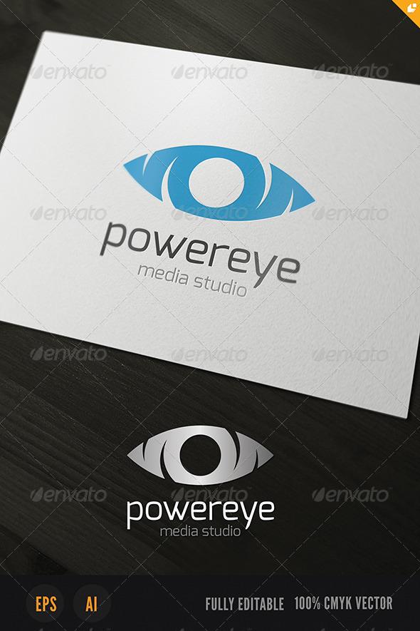 Powereye Logo - Humans Logo Templates